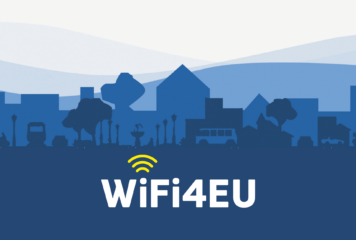 Flayat, l'Europe et le Wifi