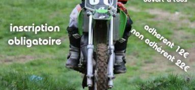 Journée d'entrainement moto à Flayat.